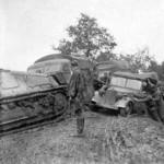 German Somua S-35 in Yugoslavia 1944