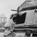 Knocked out Somua S 35