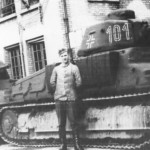 French-built Somua S35 101 in german service 2