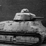 Char de cavalerie Somua S-35 number 70