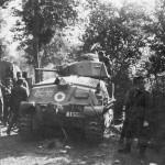 Somua S35 tank France 1940 rear view