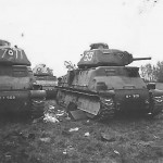 Somua S35 tanks 59 77 and 88