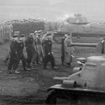 Field Marshal Walther von Brauchitsch and Somua S35 tanks