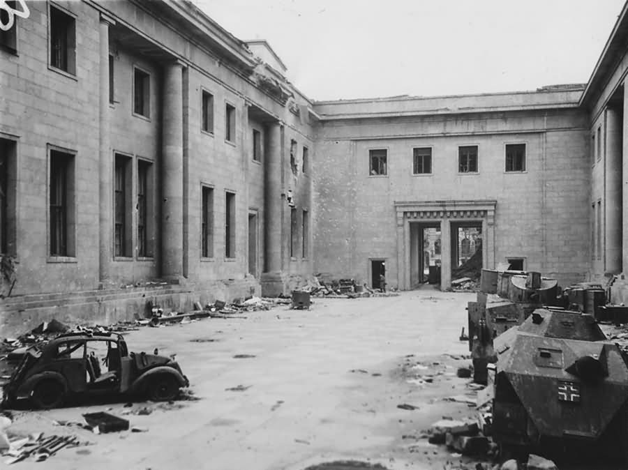 Berlin New Reich Chancellery 1945
