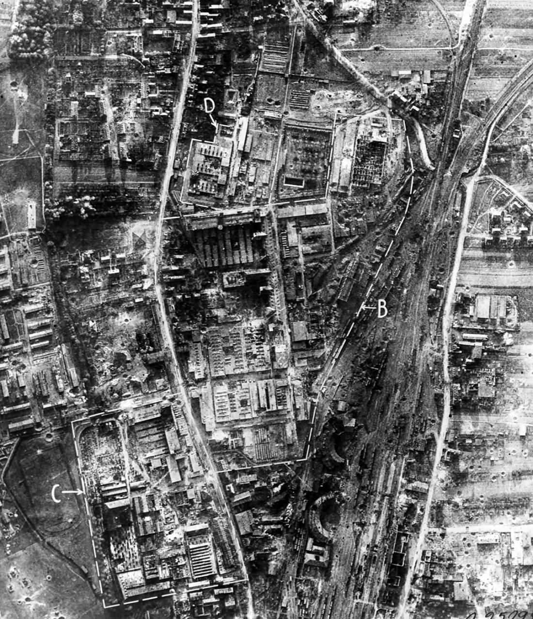 Bombed ball bearing industry at Schweinfurt