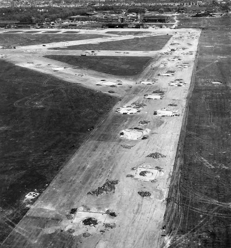 Bremen Airfield Neustadt Flughafen 1945