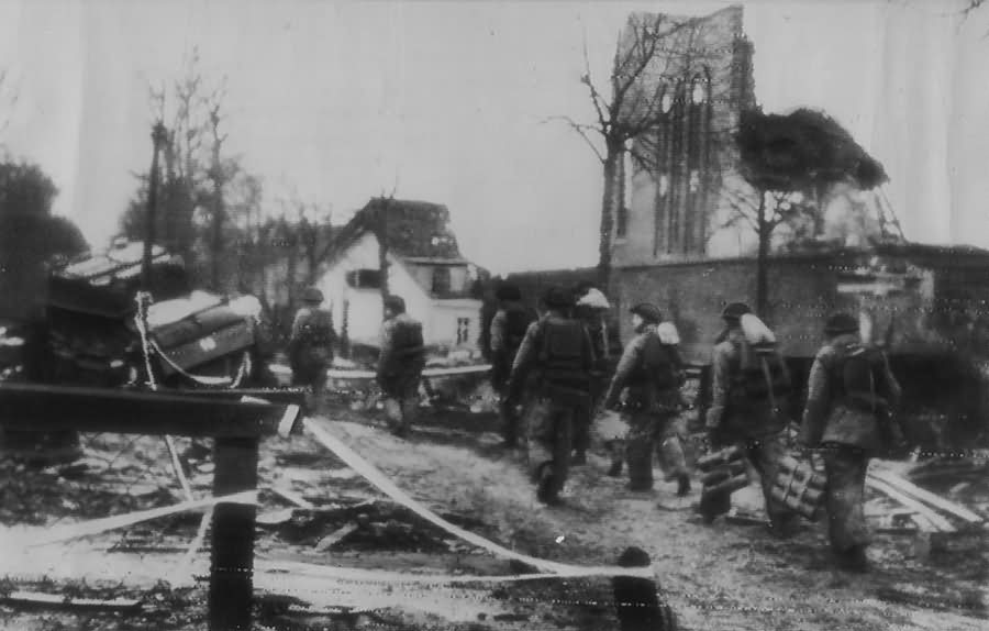British Troops in Kleve 11 February 1945
