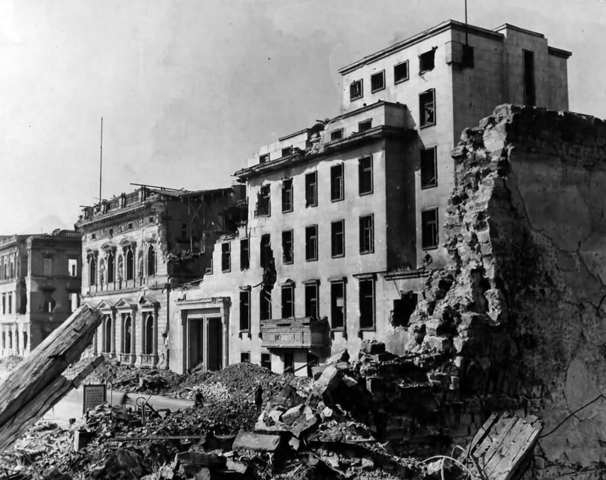 Hitler's Chancellery Berlin 1945