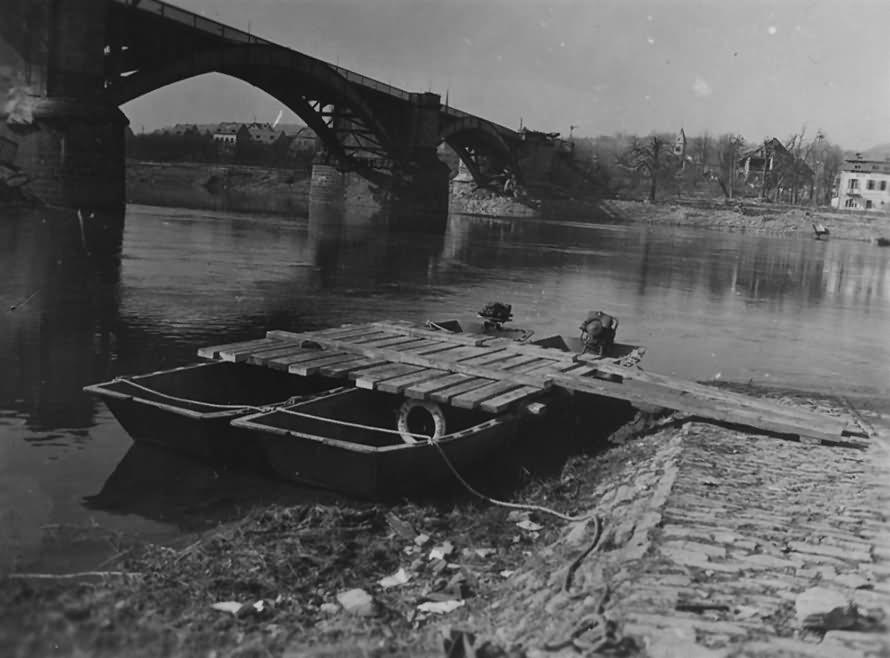 Koblenz Guls Mosel March 1945