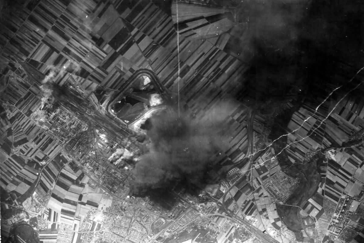 Oil Refinery At Merseberg 12 May 1944