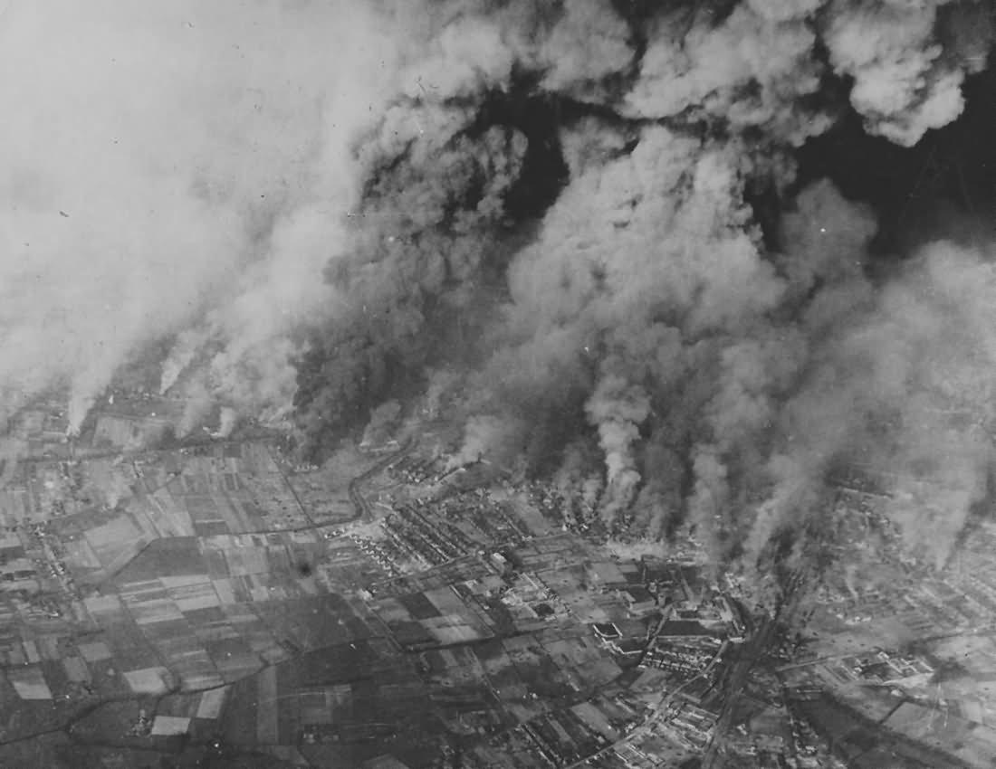 RAF Bomb Bocholt 22 March 1945