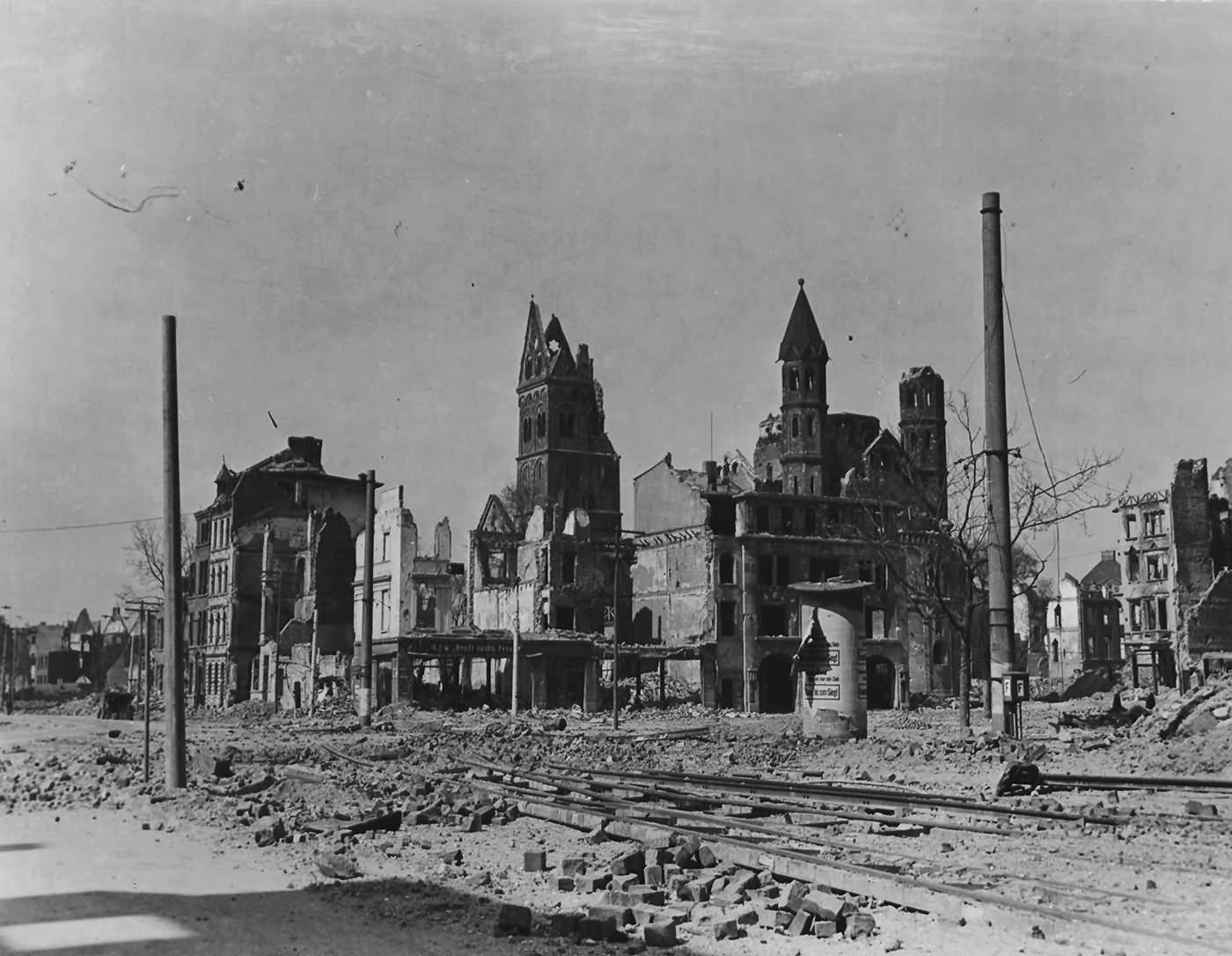 Ruins Of Köln (Cologne)