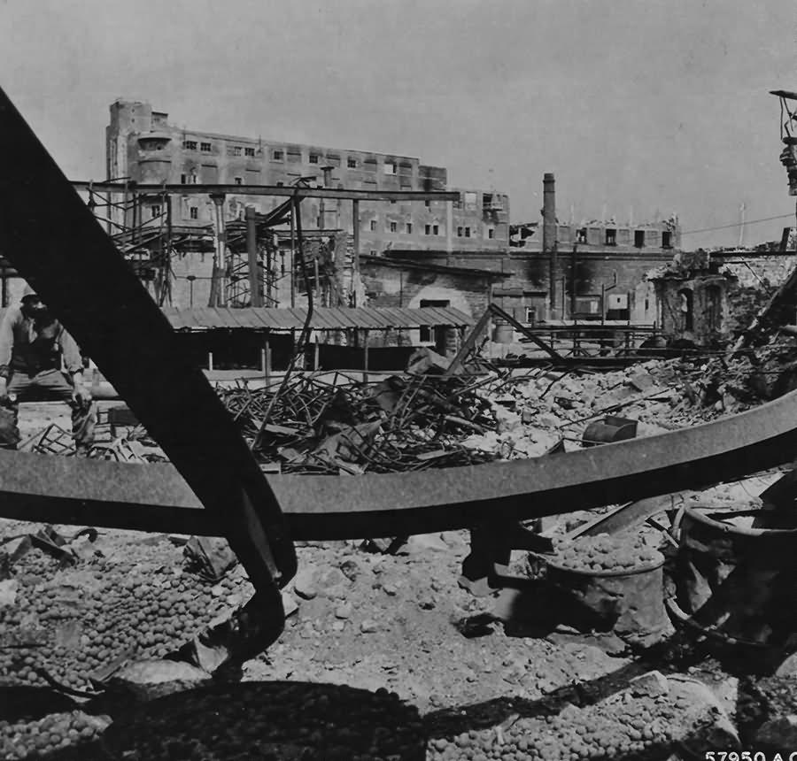 Ruins Of The Kugelfischer Schweinfurt 1945