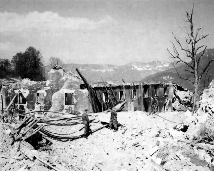 Ruins of Berghof 2