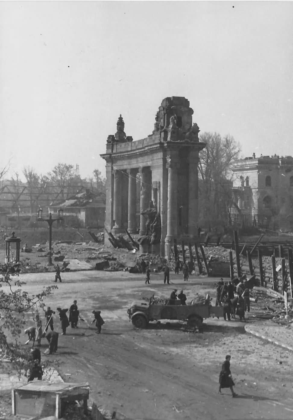 Ruins of Berlin 1945
