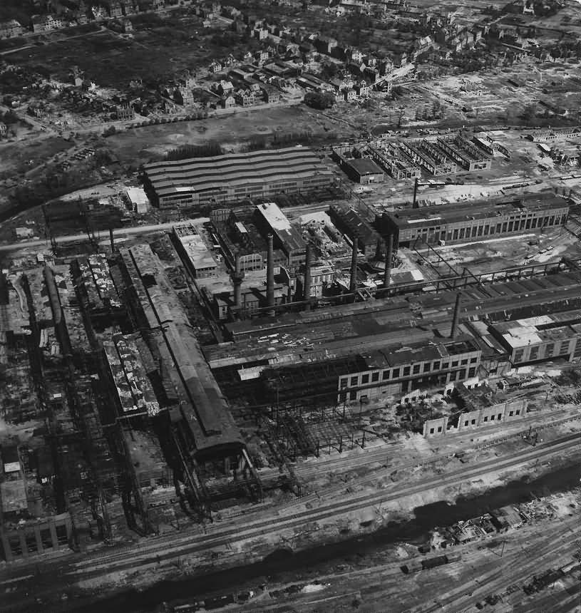 Ruins of Osnabrück Fledder Klockner Werke Buersche Str.1945