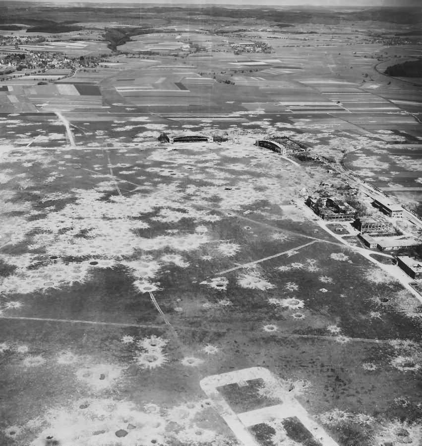 Schwabisch Hall Hessental airfield 1945