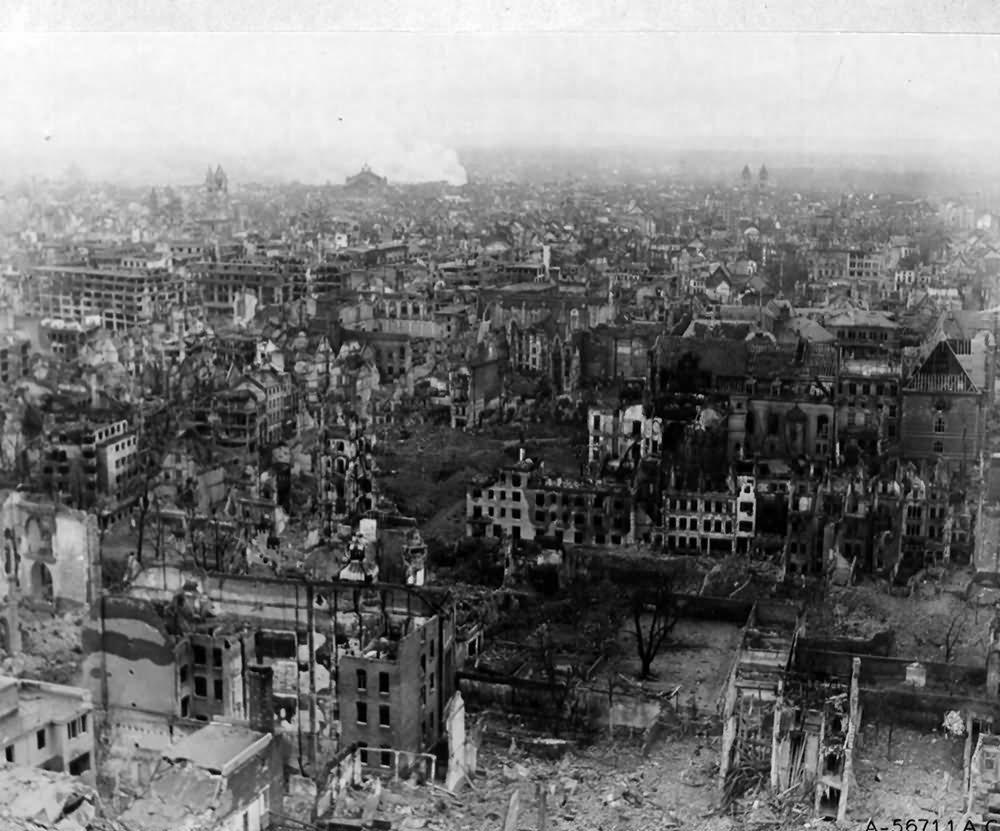 The ruins of Köln (Cologne) 4