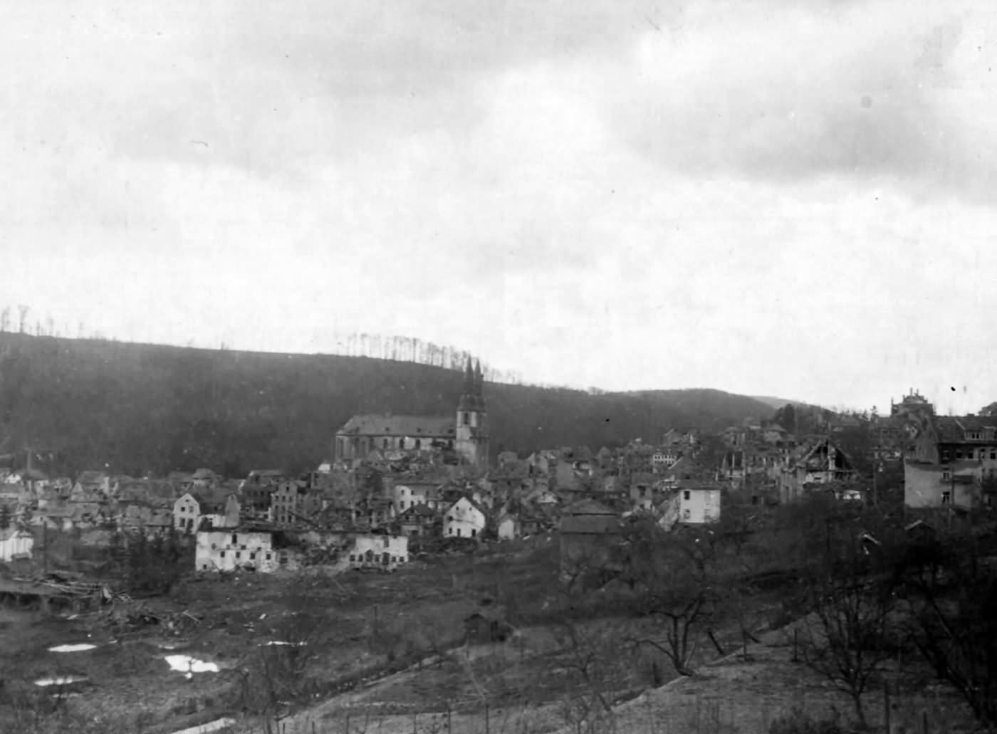View Of Prüm 1945