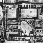 München Aerial View Residenz Feldherrenhalle Hofgarten May 1944