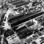 Ruins of Klockner Humboldt Factory At Köln (Cologne)
