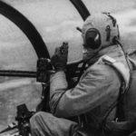 Arado test pilot inside the cockpit of an Ar234
