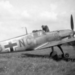Early Messerschmitt Bf109 coded GG+NC