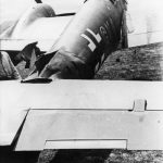 Bf110 pf Hermann Brinkmann damaged