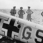 Bf110 from ZG 26 Africa