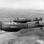 Bf 110E-1 from NGJ4 in flight