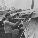 Damaged Bf 110