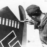 Luftwaffe Airman Recording a Kill