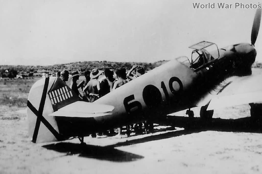 Bf 109 B 6-10 of Legion Condor