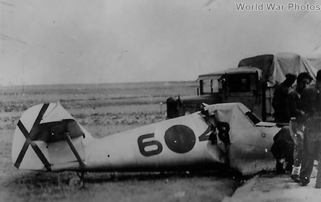 Bf109C 6-48 of Legion Condor