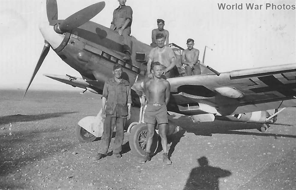 Bf109E-7 of the JG26
