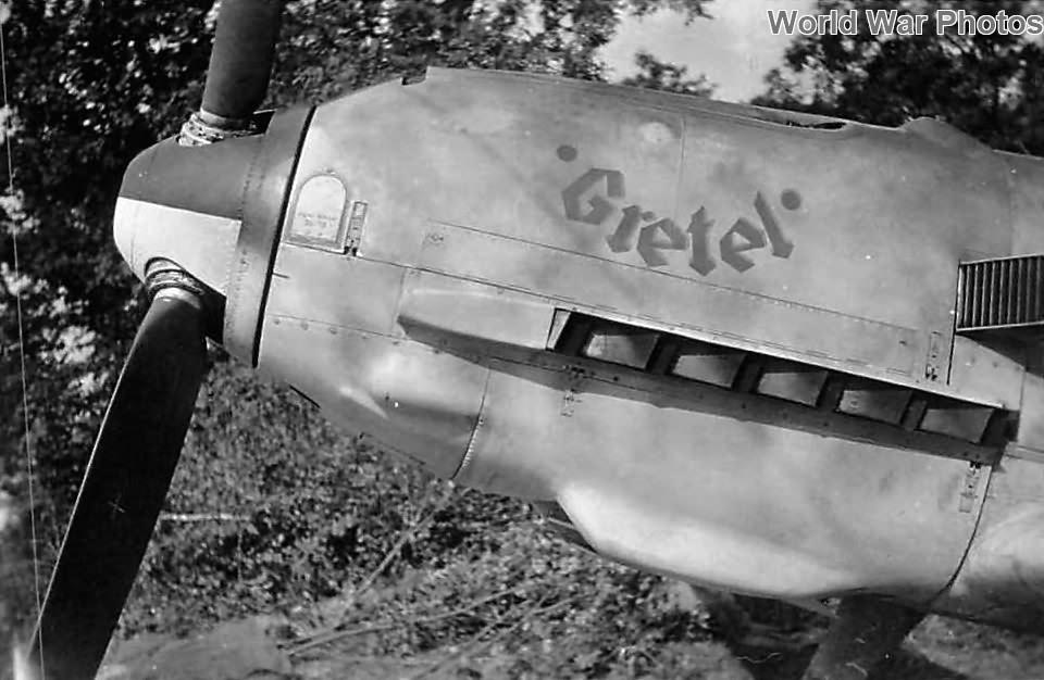 Bf109E named Gretel