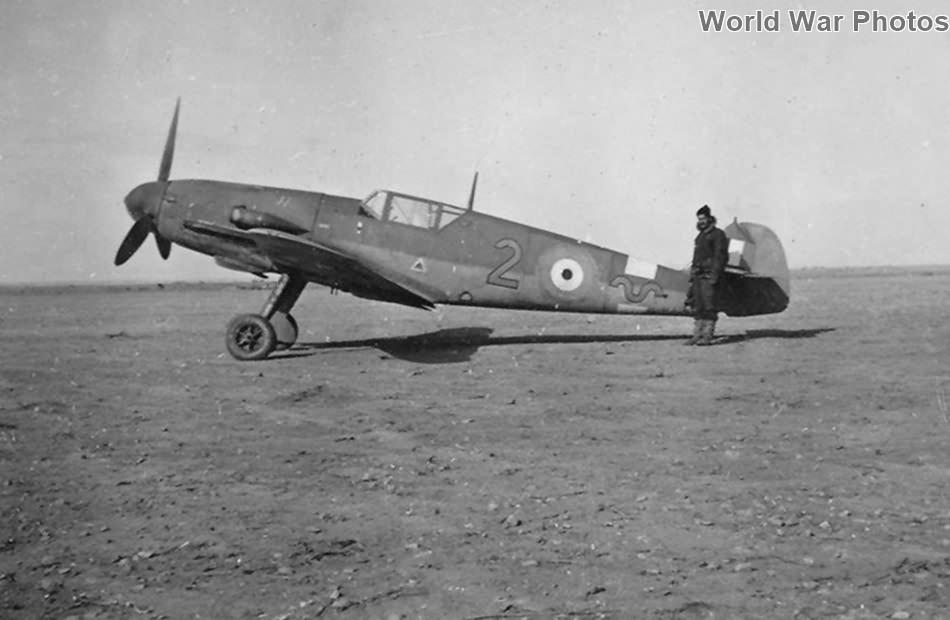 Captured Bf109F-2/trop of the 1 Sqn SAAF