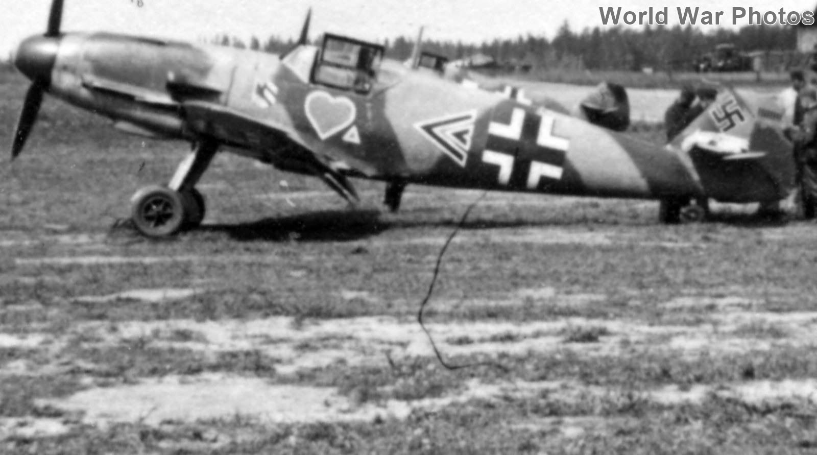 Bf109F of Gruppenkommandeur Hans Philipp of the I/JG 54