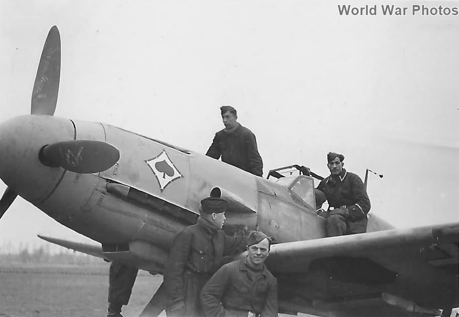 Bf 109F of the JG 53