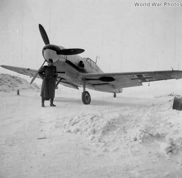Bf109F of the JG 54, Winter