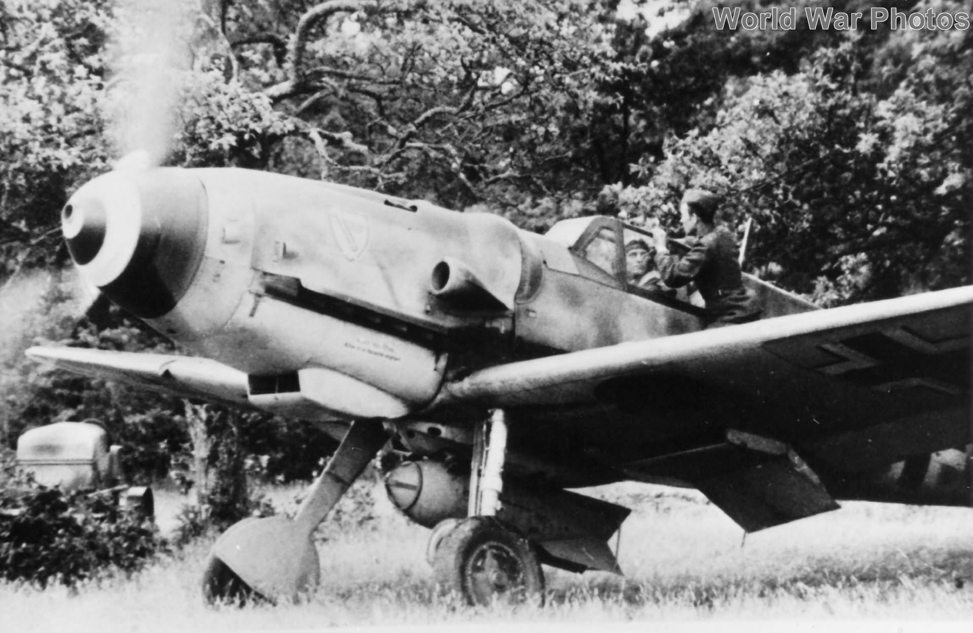 Bf109G of the II/JG 3 June 1944