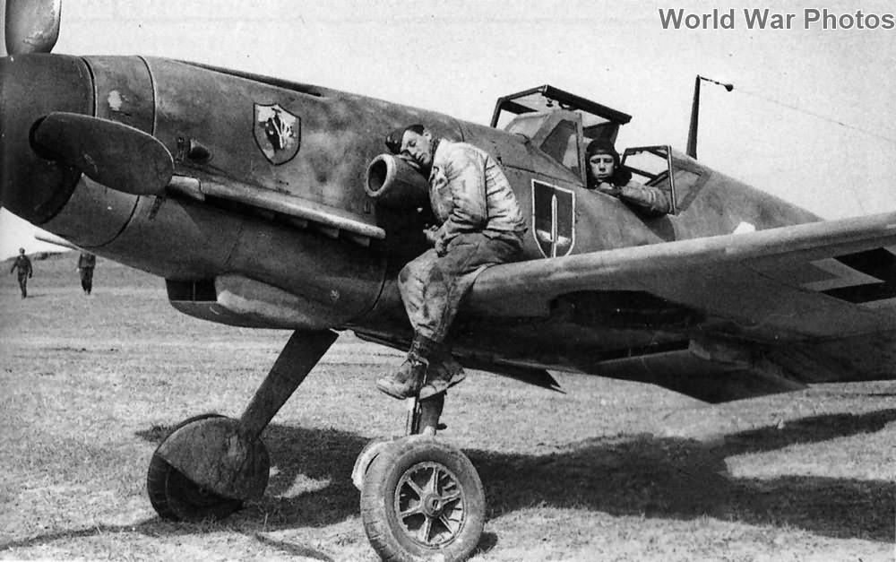 Messerschmitt Bf109 of the I/JG 52