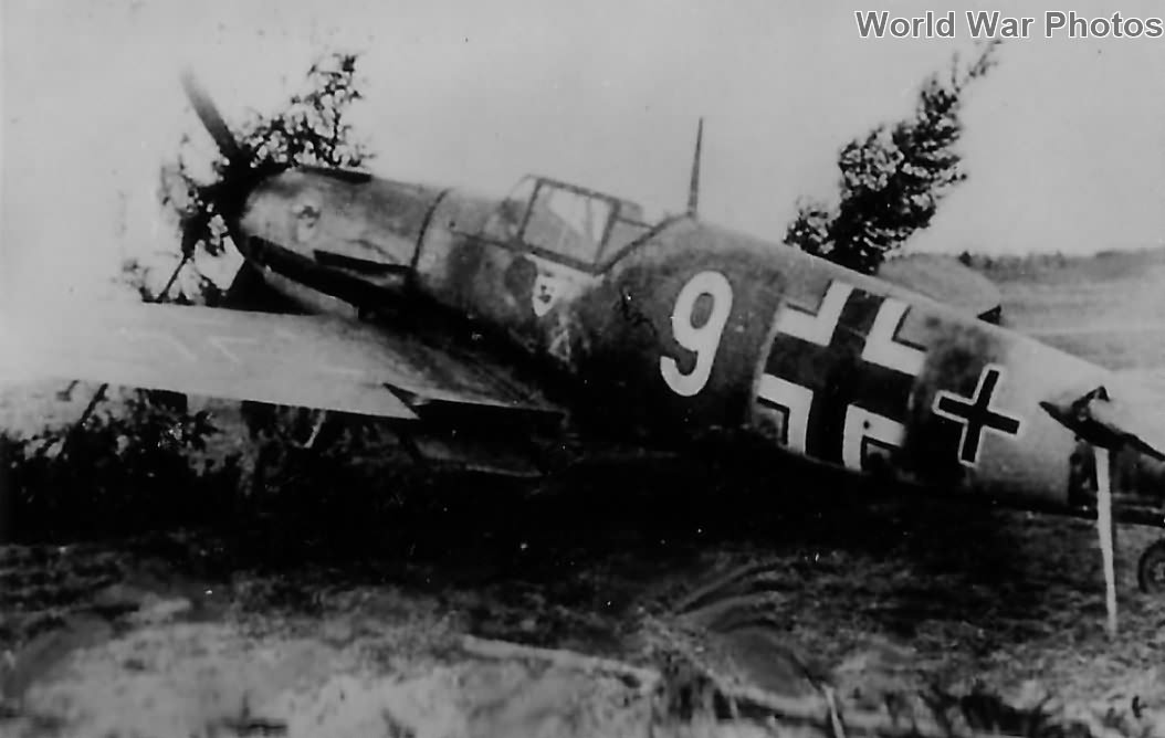 "Bf 109F ""White 9"" from IV/JG 51 November 1942"