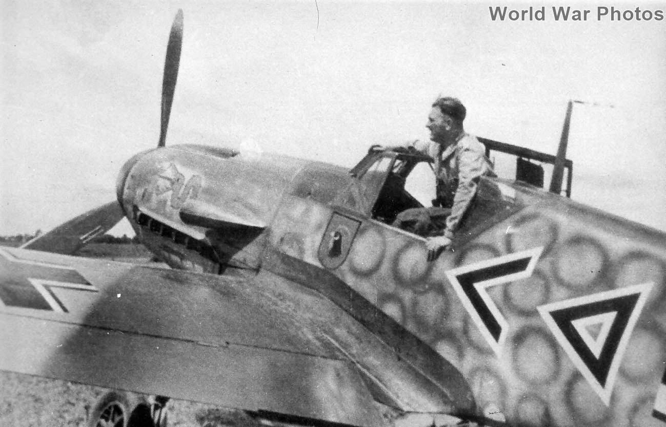 Bf 109 F of the JG 3 Gruppenkommandeur