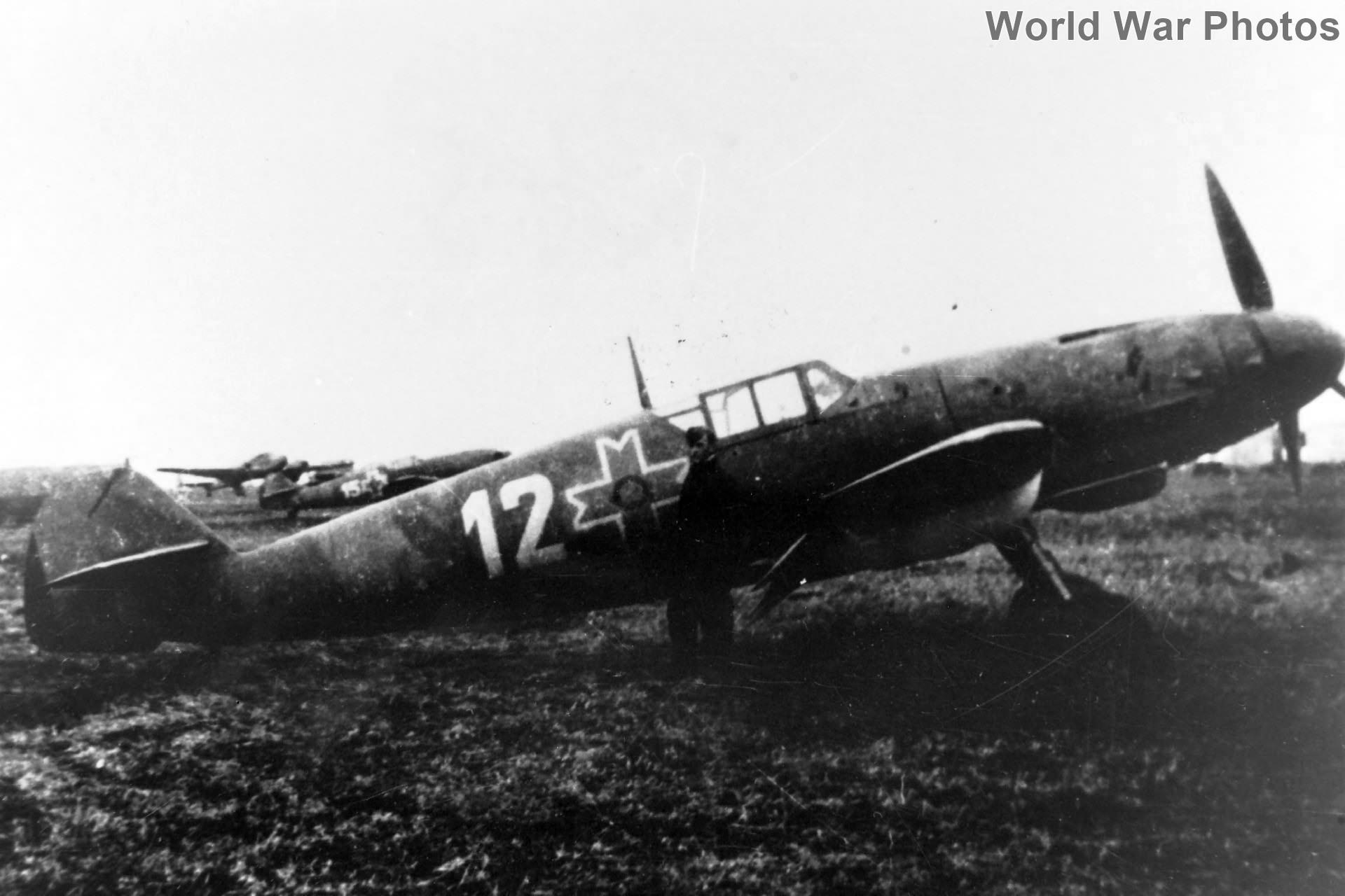 Romanian Bf109 White 12