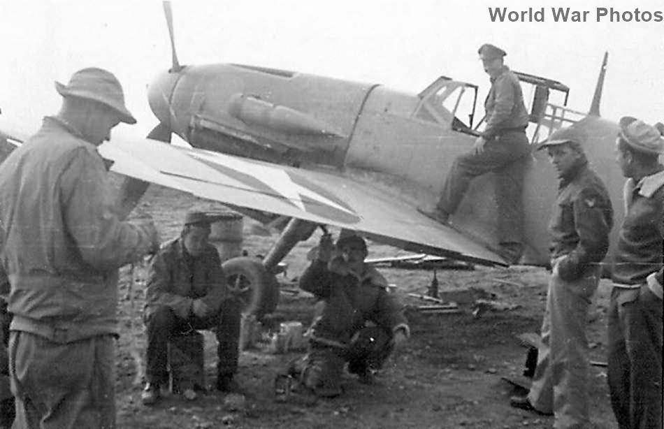Captured Messerschmitt Bf109F