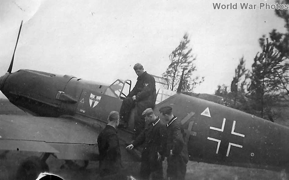 Bf109E of the III/JG 27