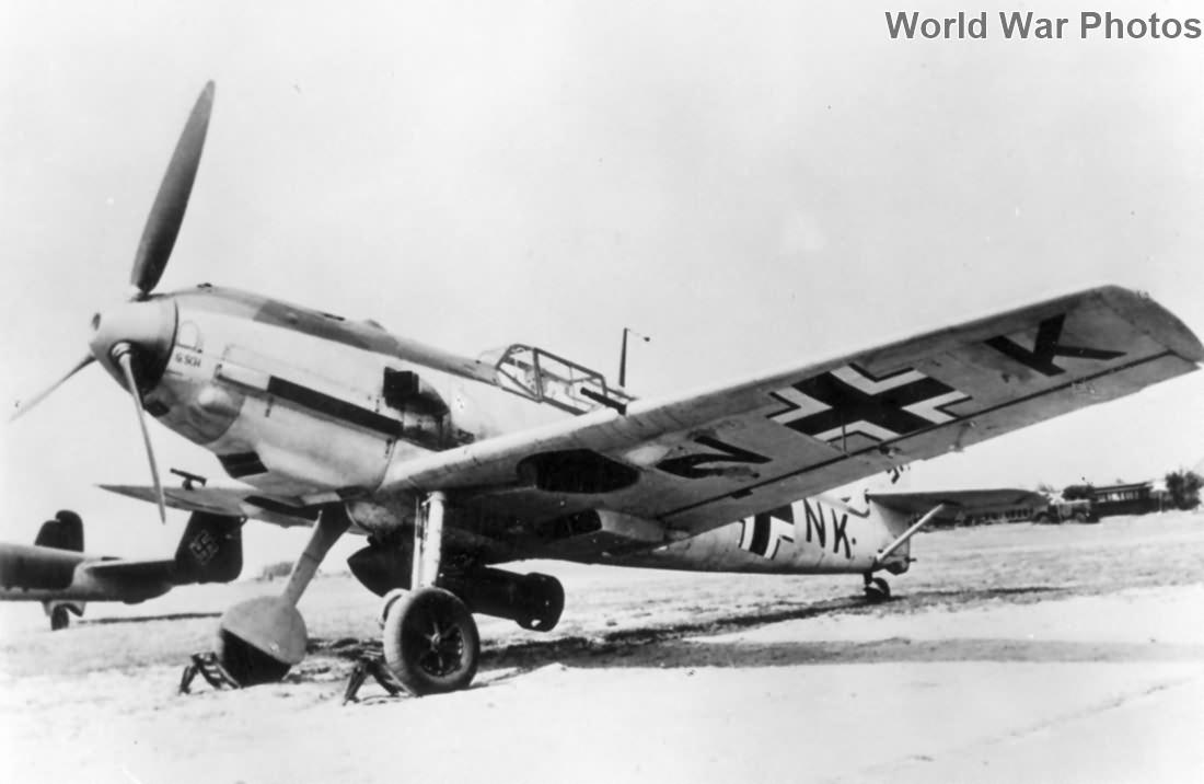 Bf 109E-3 Jabo CA+NK
