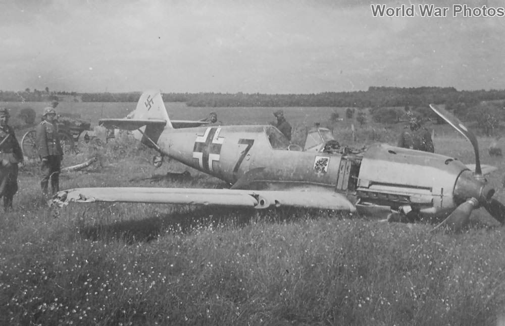 "Bf 109E ""7"" of the II/JG 54, 1940"