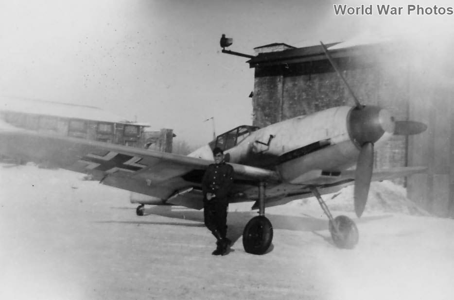 Bf 109F from JG 54